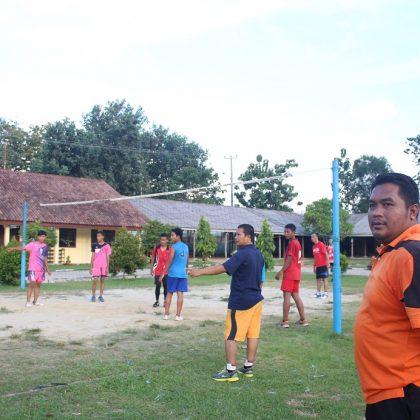 Kegiatan Olahraga di Kampus SMK Swadhipa 2 Natar