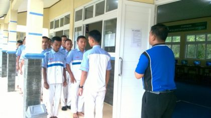 Suasana Ujian Semester Ganjil TP. 2016/2017