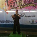 Juara II National Open Lampung Pencak Silat Championship II 2018