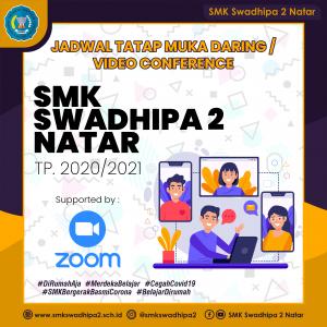 Jadwal Tatap Muka  Daring / Video Conference