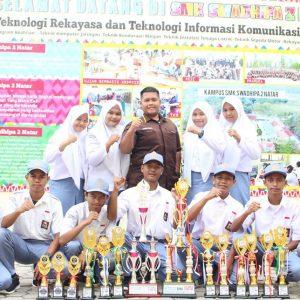 Juara LKS, FLS2 & O2S SMK Tingkat Kab. Lampung Selatan 2020 dan Lomba IFTECH UBL