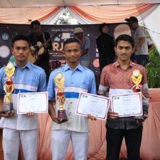 Siswa TKJ Juara 1 dan 3 NSC PRJ IV Unila 2018