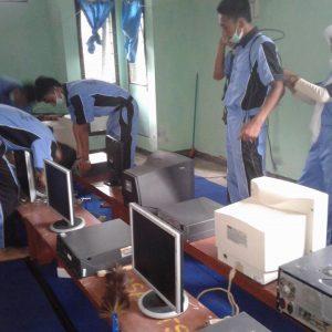 Tugas Akhir Prog. Keahlian TKJ di MTs Swadhipa Natar