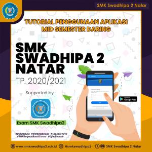 Tutorial Penggunaan Aplikasi CBT / Exam SMK Swadhipa 2 Natar